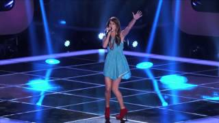 Cassadee Pope S Blind Audition Torn The Voice - MusicVista