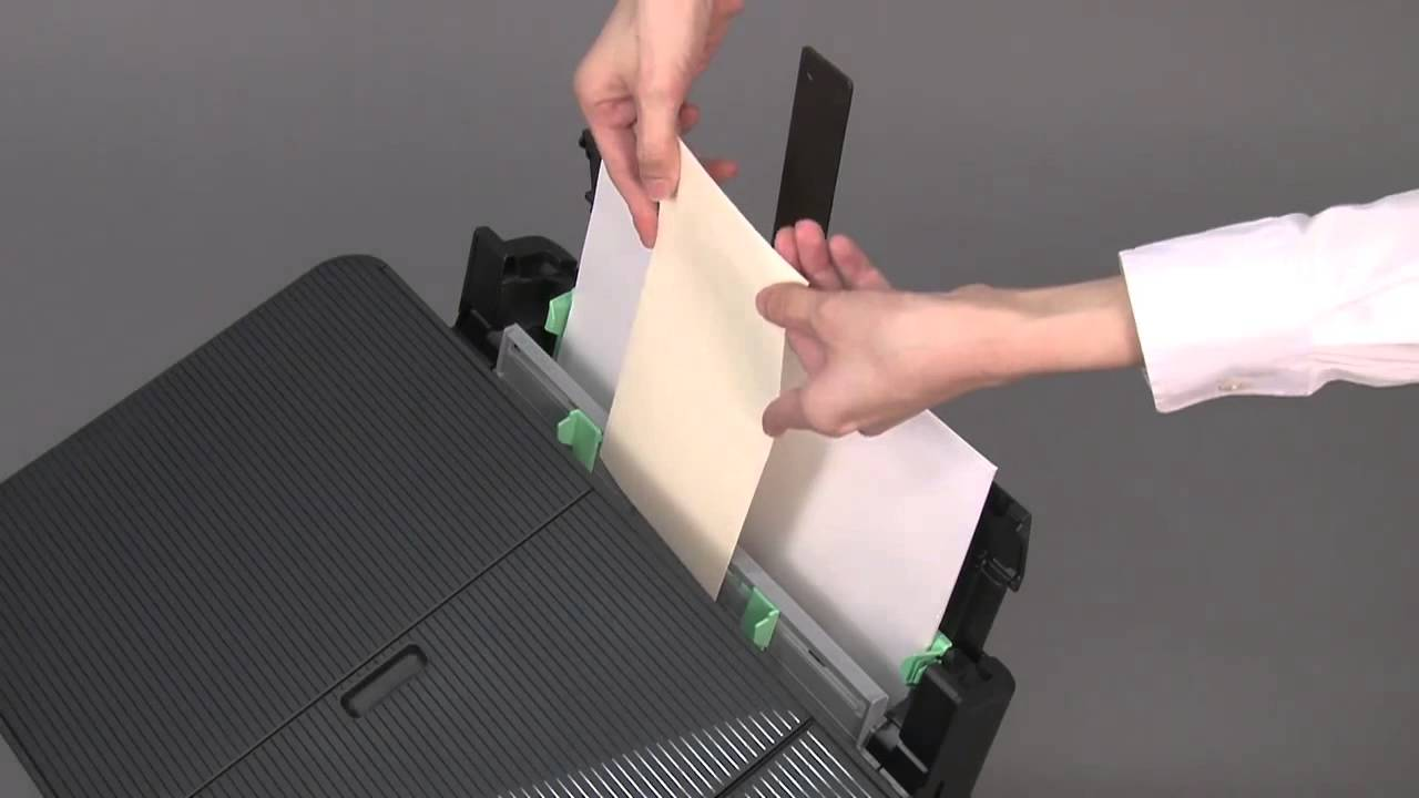 Watch How to Load Envelopes into an Inkjet Printer video