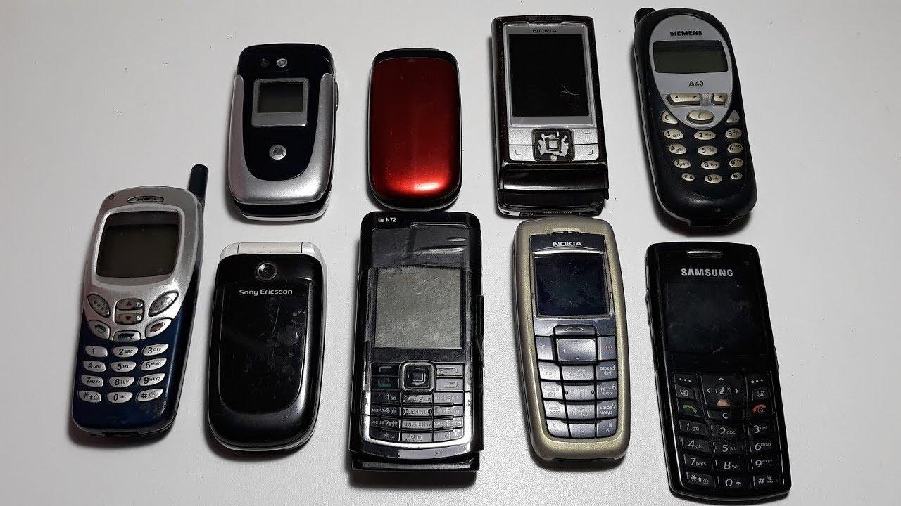 Nokia 1280 не заряжается. - YouTube