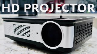 Topfoison Home Theater Projector REVIEW - 3,000 Lumens NATIVE 1080P