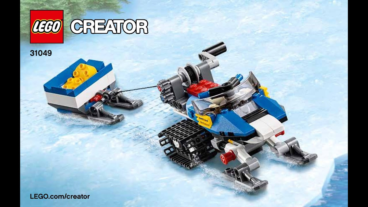 LEGO Creator 31049 Twin Spin Helicopter 3 in 1 Instructions DIY Book 2 -  YouTube