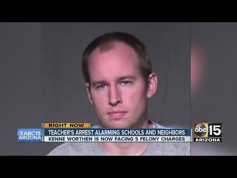 Phoenix teacher's arrest alarming schools and neighbors