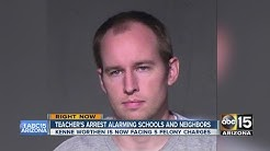 Phoenix teacher's arrest alarming schools and neighbors