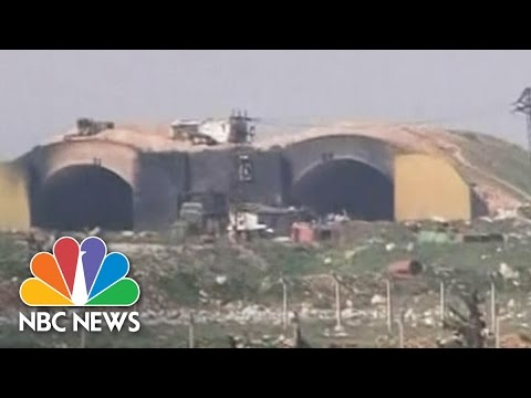 U.S. Missile Attack  Video Aired On Syrian TV | NBC News