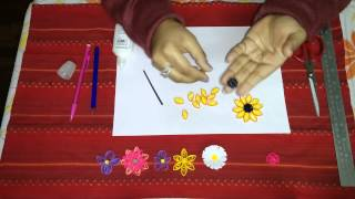 23. How to Make Sunflower Quilling Flower
