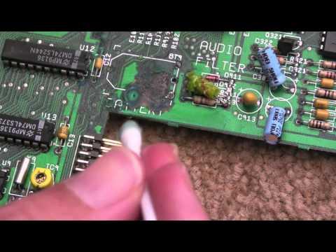 Commodore Amiga A500+ Corrosion Repair Part 1
