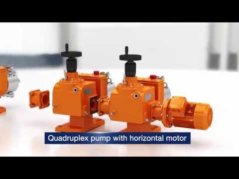 Process Metering Pump Orlita® Evolution: Excellent flexibility