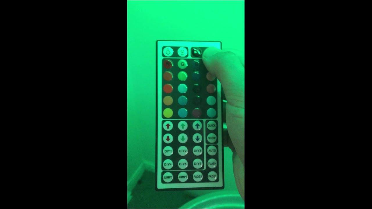 Fix Reprogram 44 Key Led Light Strip Remote Controller