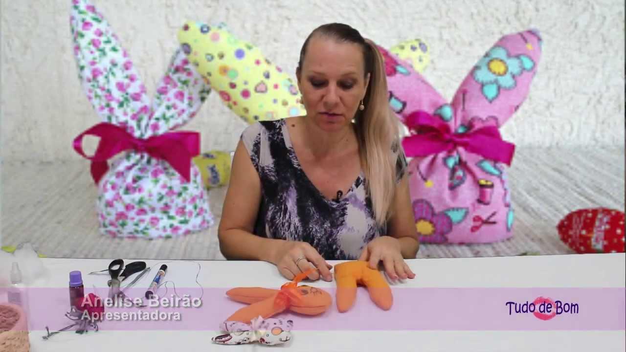 Decoração Aparador Atras Do Sofa ~ TUDO DE BOM 18 e 19 3 14 Artesanato fácil para Páscoa YouTube