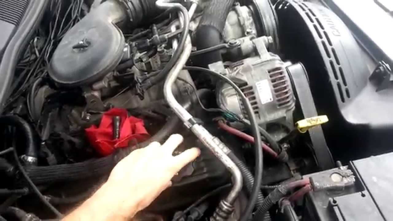 5 2 V8 Bad Plenum Gasket Idling Issues