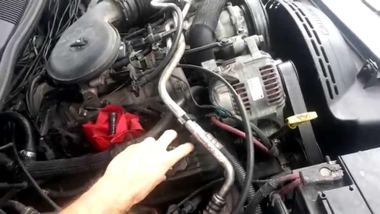 5 2 V8 Bad Plenum Gasket Idling Issues
