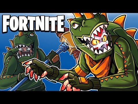 FORTNITE BR -  THE DINOS ARE BACK! (Clutch Squad Match!)