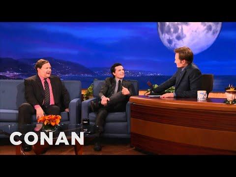 Josh Hutcherson's Peetaphiles & Peeniss Lovers  CONAN on TBS