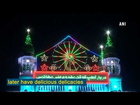 Watch: Mahim dargah illuminated for Eid Milad-un-Nabi