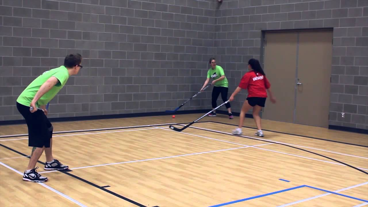 Ball Hockey Rules - Ball in Corner