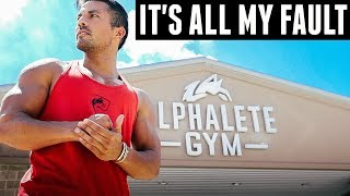 Why I'm Stepping Down From Alphalete Gym.. What Happens Next?