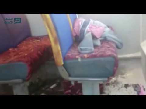 مصر العربية | اللقطات الأولى من موقع حادث المنيا