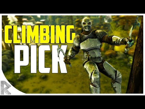 CLIMBING PICK! - Where to find Metal - Ark Aberration Expansion Pack DLC EP#4