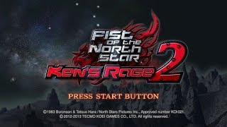 Fist Of The North Star Kens Rage 2 Xbox 360 Gameplay Part 1