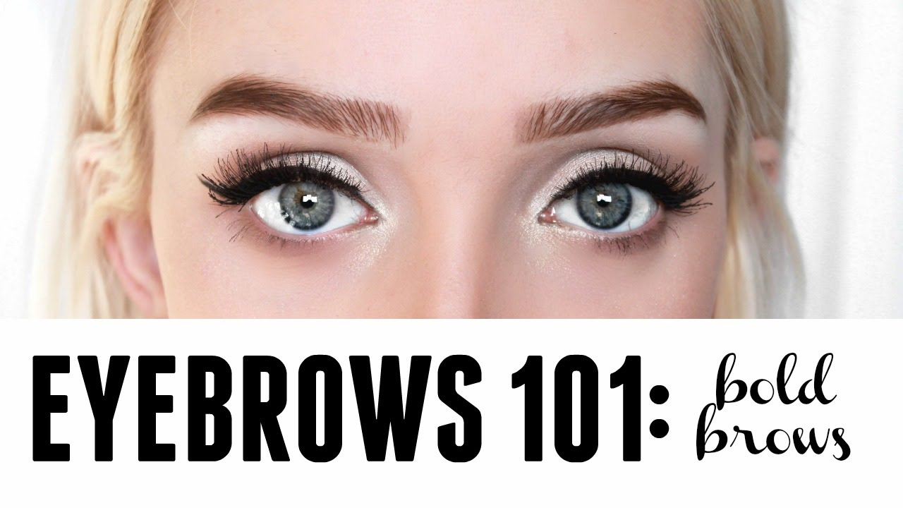 Eyebrow Routine For Bold Brows 3 Different Product Options Youtube