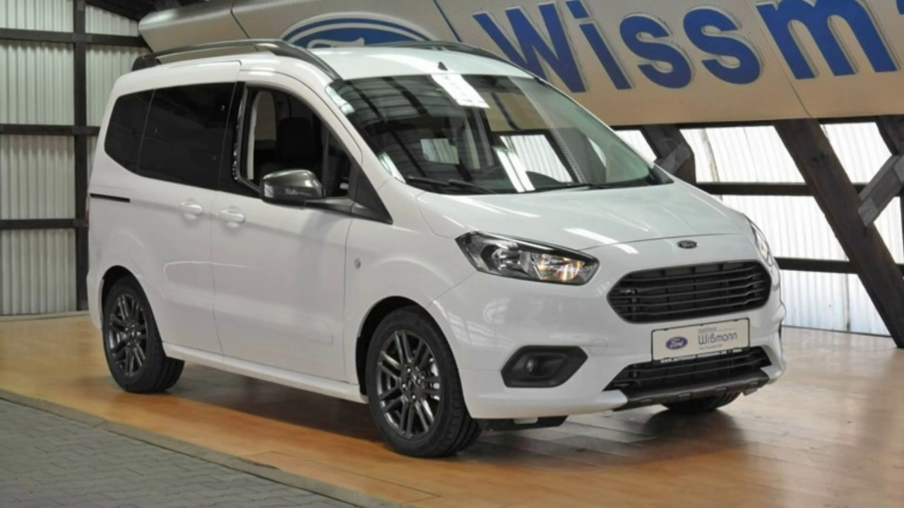 Ford Tourneo Courier Sport Tacljm16672 Frost Weiss Autohaus