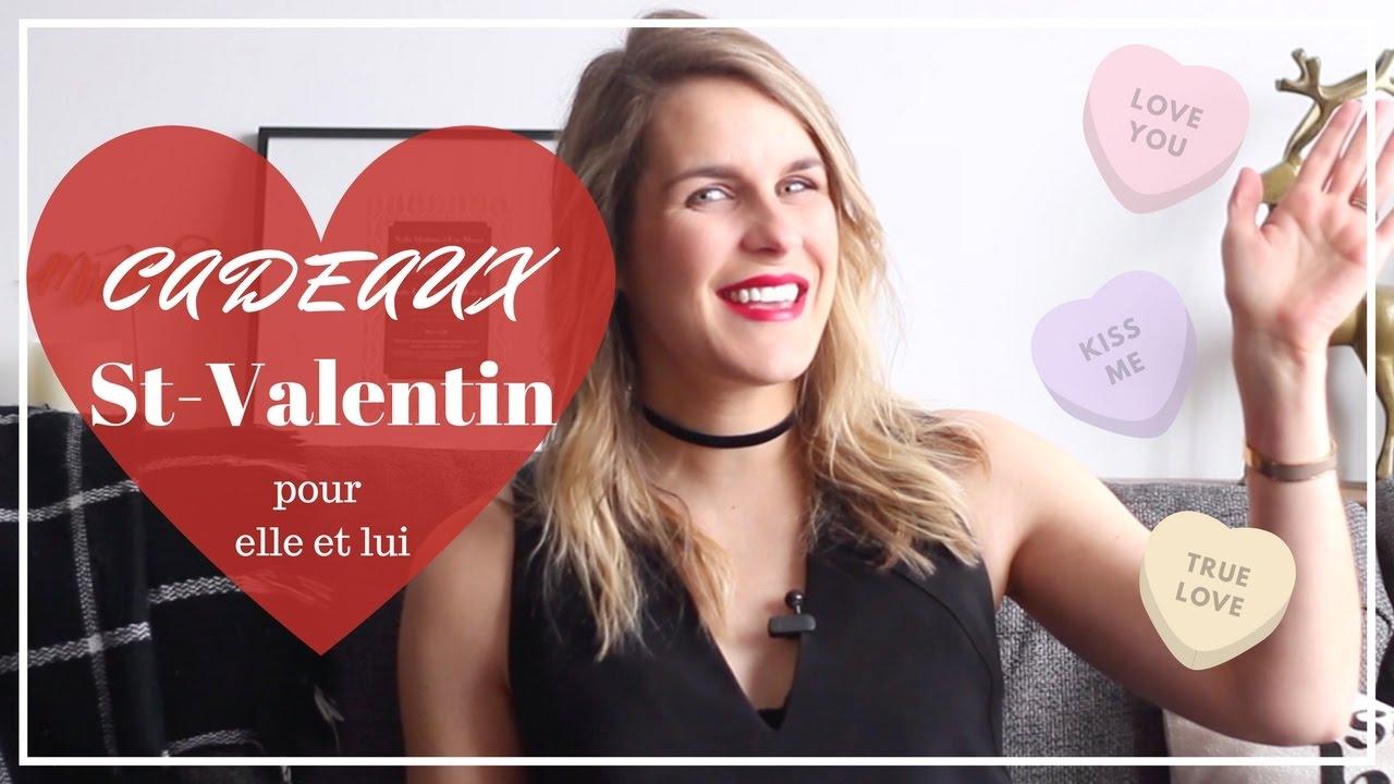 cadeaux saint valentin 2017 pour elle et lui guide cadeaux youtube. Black Bedroom Furniture Sets. Home Design Ideas