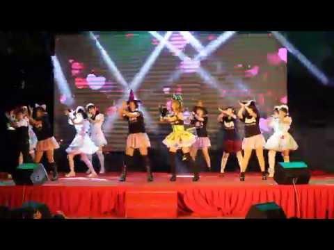 【虹】Halloween Night ハロウィーン・ナイト 踊ってみた。AKB48【Aki Matsuri 2015】