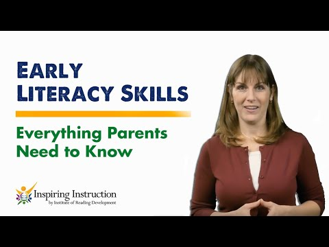 Early Literacy Skills Everything Parents Need to Know