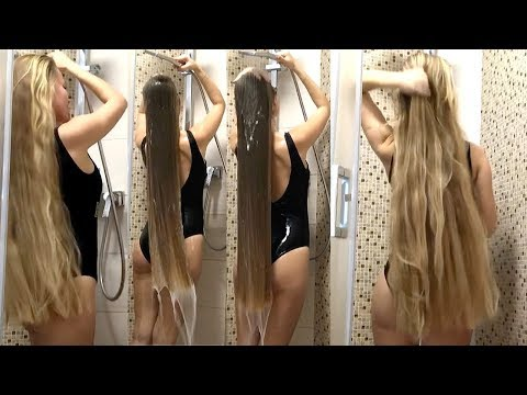 RealRapunzels | Julia's Blonde Hair Wash (preview) from YouTube · Duration:  2 minutes 3 seconds