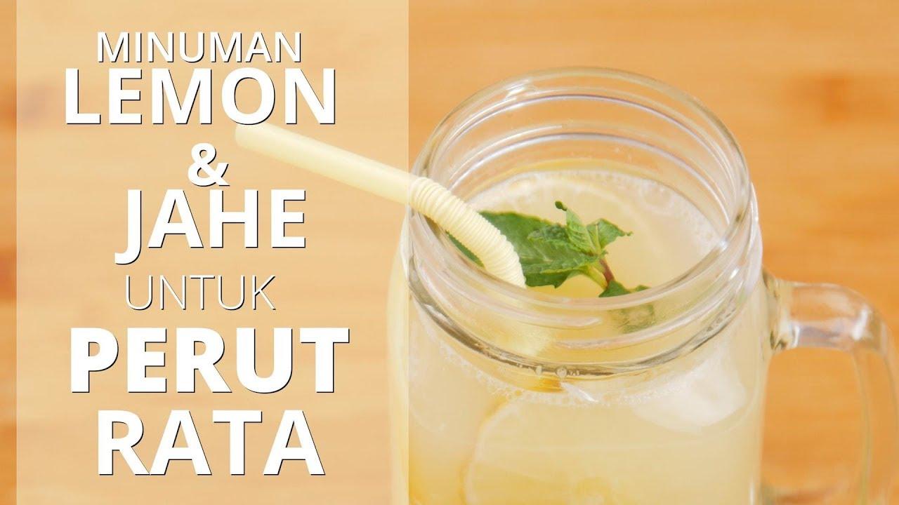 Minum Ramuan Lemon Jahe Detox Water Ini Untuk Membantu Menurunkan Berat Badan Youtube