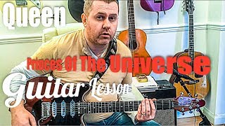 Princes of the Universe - Queen - Guitar Tutorial