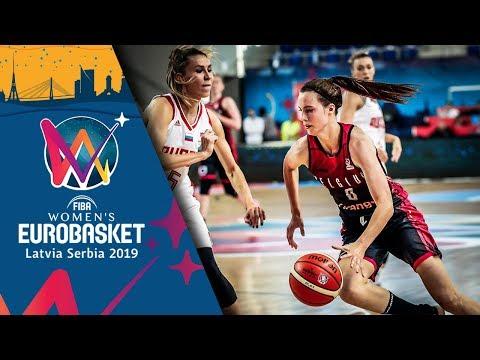 Russia v Belgium - Highlights - FIBA EuroBasket Women 2019