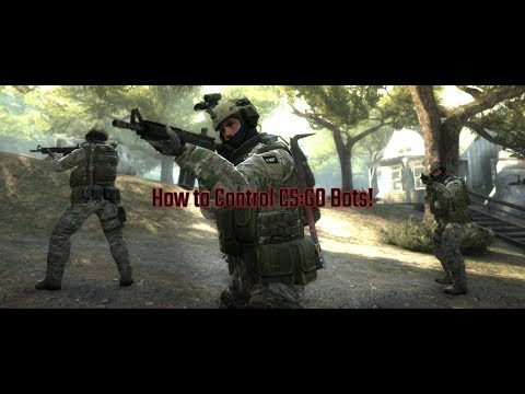 How To Control Bots In CS:GO!