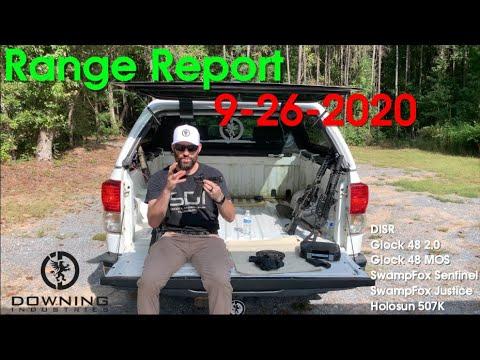 Range Report 9-26-2020