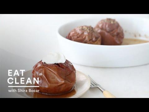 Vanilla-Bean Baked Apples - Eat Clean with Shira Bocar