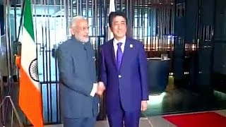 Indian flag upside down during Modi Abe meet: NewspointTV