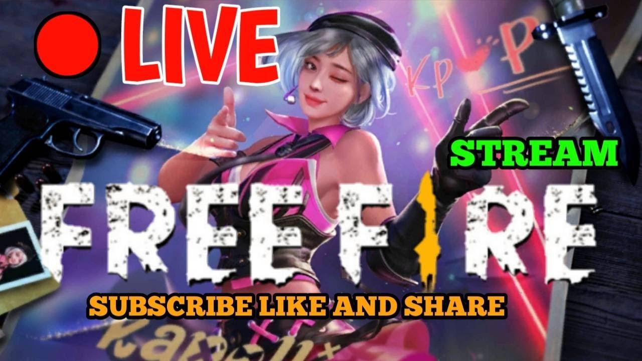 🔴Live Free Fire : เก็บแรงค์กันต่อ ใครจะมาแบกมาเลย!!