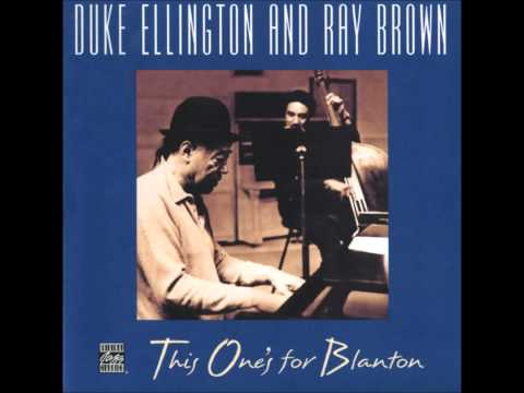 Duke Ellington and Ray Brown - do nothing till you hear from me