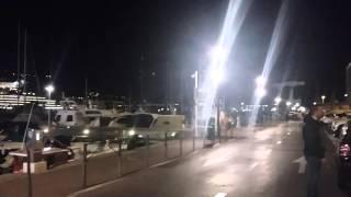 Principauté de Monaco Le port et le chateau Montecarlo