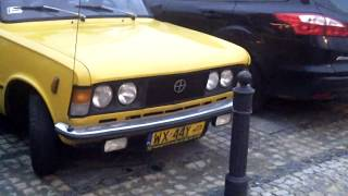 Редкое авто FSO 125p