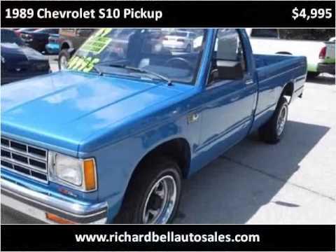 1989 Chevrolet S10 Pickup Used Cars Deland Fl Youtube