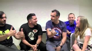 Q, Sal, Joe, and Murr of Impractical Jokers/Tenderloins Interview