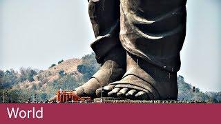 自由の女神の2倍!!インドに完成した世界最大の像がデカすぎる!!