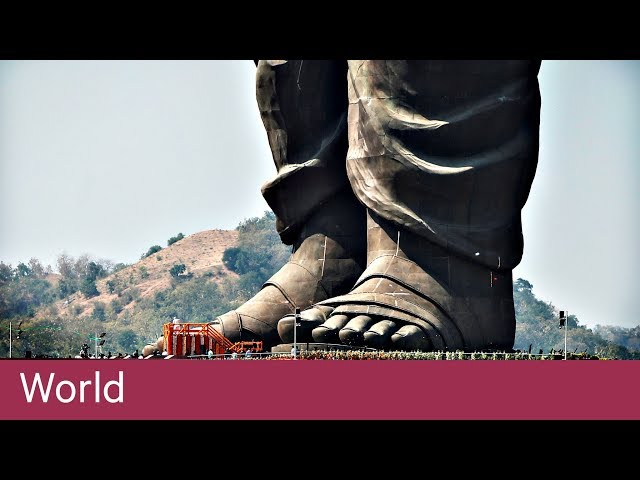 Monument to Indian politician is world's tallest statue