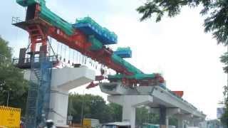Hyderabad Metro Rail Progress Shilparamam TO Mettuguda