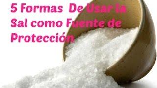 5 Formas De Usar Sal para Purificación y Protección