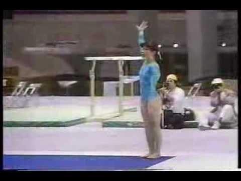 Mieko Mori FX 1987 World Sports Fair EF