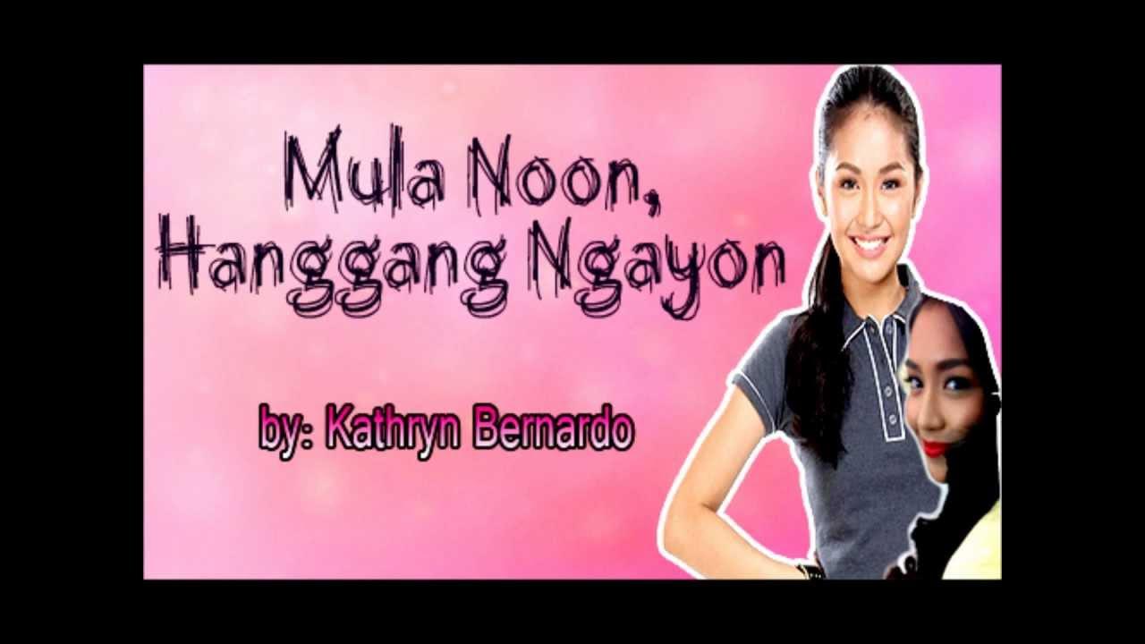 Lea Salonga - Mula Noon, Hanggang Ngayon Lyrics | MetroLyrics