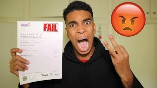 OPENING THE WORST GCSE RESULTS 2017