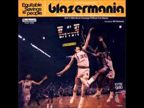 Final 10 minutes of radio broadcast of Game 6, 1977 NBA Finals - Bill Schonley
